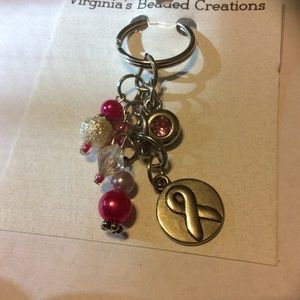 Accessories - Breast cancer awareness key ring
